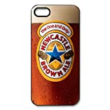 Newcastle Brown Ale Beer Sign Snap On Iphone 5 Black Plastic Case and Water Proof Iphone 5 Case