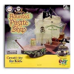 Glow in the Dark Haunted Pirate Ship Kit!