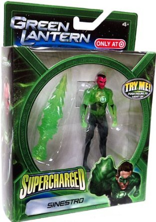 Green Lantern Movie Exclusive Supercharged Sinestro