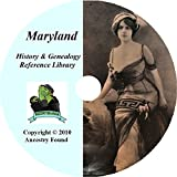 51 Old Books Maryland History & Genealogy on DVD Ancestry, Records, Family