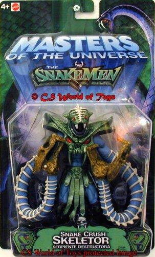 Buy Low Price Mattel Snake Crush Skeletor Figure (B0006PXS44)