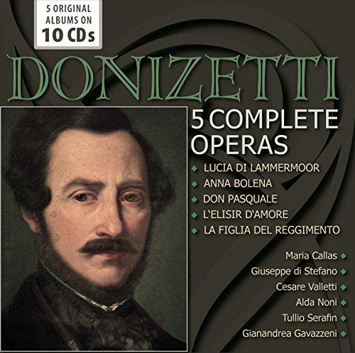 Donizetti: 5 Complete Operas
