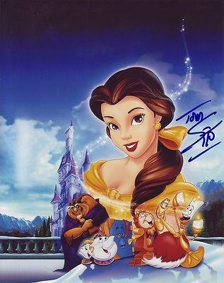 Tom Sito Signed *Disney* Artist Beauty And The Beast 8X10