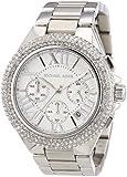 Michael Kors Women's Quartz Watch Camille Chrnograph MK5634 with Metal Strap
