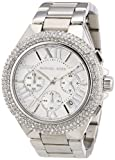 Michael Kors Women's Quartz Watch Camille Chrnograph MK5634 with Metal Strap