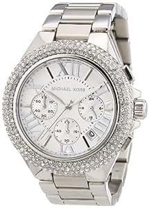Michael Kors Damen-Armbanduhr XL Camille Chrnograph Quarz Edelstahl MK5634