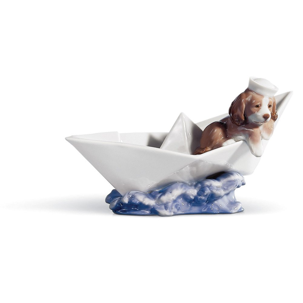 Lladro Porcelain LITTLE STOWAWAY       review and more information