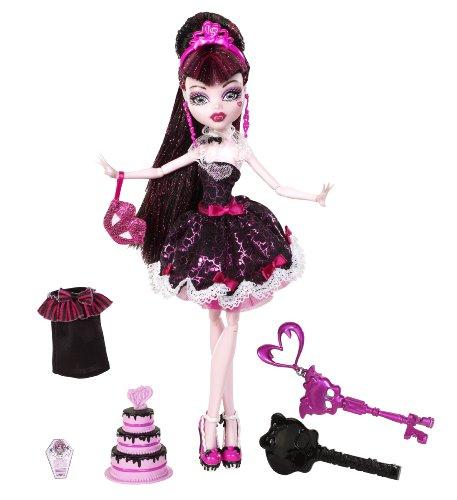 mattel w  monsterhigh doll, birthday