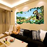 LUCKKYY®Jurassic Park Dinosaurs Wall Sticker Home Decals Quote Decals Wall Decorations for Living Room