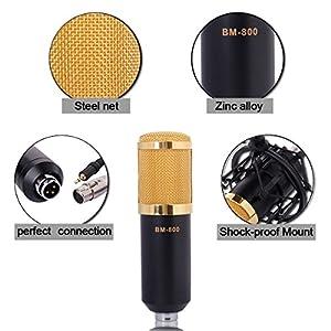 XCSOURCE Condenser Sound Studio Recording Microphone Broadcast Dynamic Shock Mount TH037