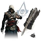 新登場!二代目!超高品質!超人気!Assassin's Creed IV Black FlagアサシンクリードIV ブラック フラッグHidden Blade Gauntletアサシンブレード暗殺 武器 仕込み籠手