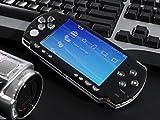 PSP2000 フェイス シルクブラック(黒 ドライバ+ボタンセット付