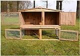Stall Nr 2 Kaninchenstall Hasenstall Kaninchenkäfig Hasenkäfig Meerschweinchenstall -