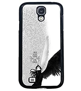 PRINTVISA Abstract Angel Case Cover for Samsung Galaxy S4