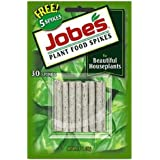 Jobe's Indoor Beautiful Houseplants Fertilizer Food Spikes - 30 Pack