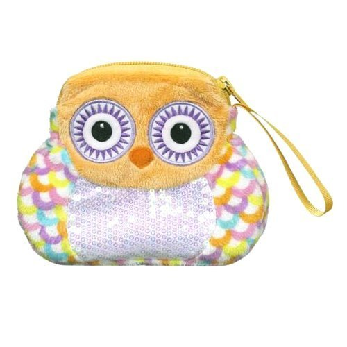 Ganz Owl Change Purse - Orange