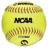 Worth NC12S 12 Inch Pro Tac Synthetic Leather Level 10 Training Softball (Sold in Dozens)