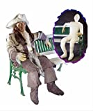 Lifesize Posable Dummy 6 Ft Full Size with Hands Haunted House Halloween Prop