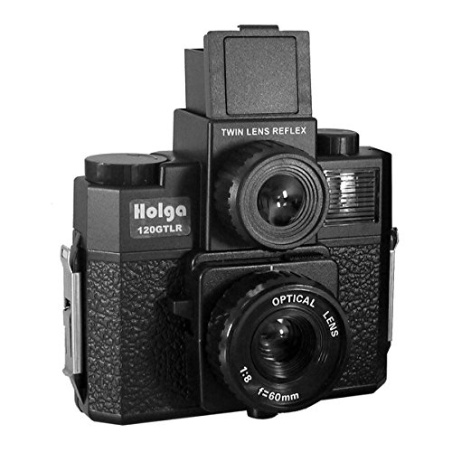 Cheapest Prices! Holga 120 GTLR Twin Lens Reflex Film Camera Lomo GCFN For Waist Viewer Black