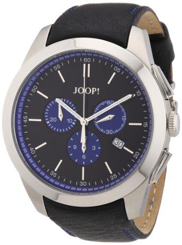 Joop JP100711F02 - Reloj para caballero de cuero Resistente al agua negro