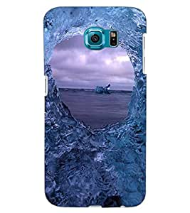 ColourCraft Amazing Water Effect Design Back Case Cover for SAMSUNG GALAXY S6 EDGE G925