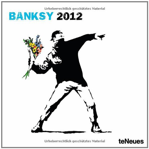 2012 Banksy Grid Calendar