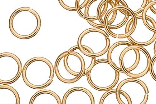 15 Gauge Jumpring Gold Finished Brass 12mm sold per 30pcs nokia 515 light gold
