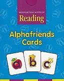 Houghton Mifflin Pre-K: Alphafriends Cards Grade Pre K