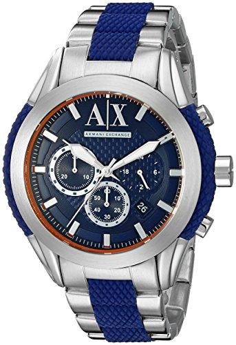 Armani-Exchange-Mens-AX1386-Silver-Watch
