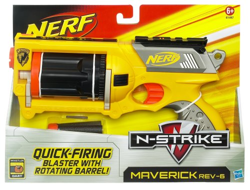 Nerf- N-Strike Maverick