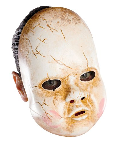 Baby Doll Adult Costume Mask