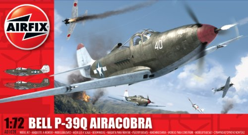 Airfix A01039 1:72 Scale Bell P-39Q Airacobra Military Aircraft Classic Kit Series 1