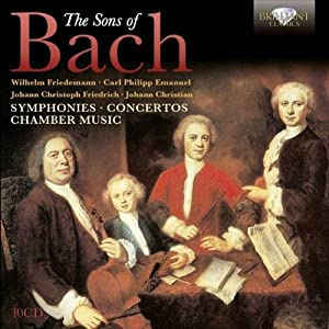 Sons Of Bach: Symphonies, Concertos, Chamber music