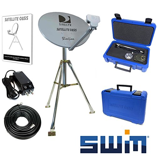 Great Deal! DIRECTV SWiM Mobile RV Portable Satellite Dish Tripod Kit SWM SL3S