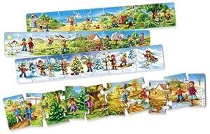 Four Seasons Floor Puzzles (40 Pieces)