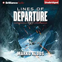 Lines of Departure (       UNABRIDGED) by Marko Kloos Narrated by Luke Daniels
