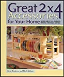 img - for Great and Terrific 2 X 4 Furniture and Accessories For Your Home 2 Book Set [2 Hardcovers] book / textbook / text book