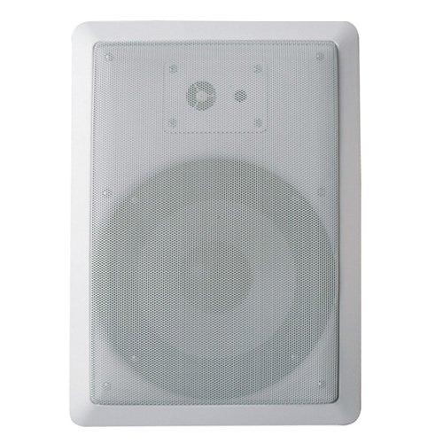 Acoustic Audio Cs-Iw630 300 Watt In Wall 6.5-Inch Speaker 3-Way Home Theater, White