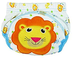 LinTimes unisexo bebé animal pañal, medio, león