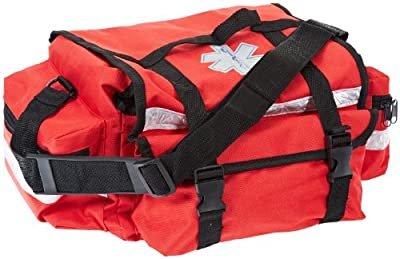 "Primacare KB-RO74-R Trauma Bag, 7"" Height x 17"" Width x 9"" Depth, Red from Primacare"
