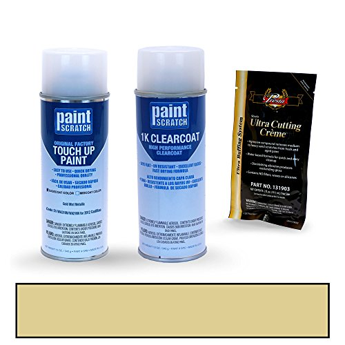 2012 Cadillac SRX Gold Mist Metallic 51/WA316N/WA216N Touch Up Paint Spray Can Kit by PaintScratch - Original Factory OEM Automotive Paint - Color Match Guaranteed (Srx Spare Tire Kit compare prices)