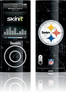 NFL - Pittsburgh Steelers - Pittsburgh Steelers Distressed - iPod Nano (5G) Video - Skinit Skin by Skinit