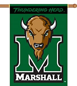 Buy BSI Marshall Thundering Herd 28x40 Double Sided Banner by BSI