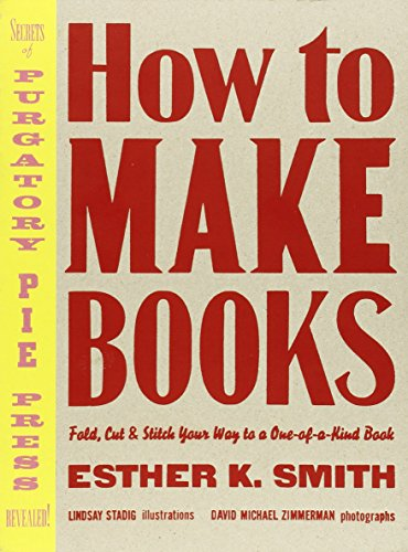 How to Make Books /Anglais