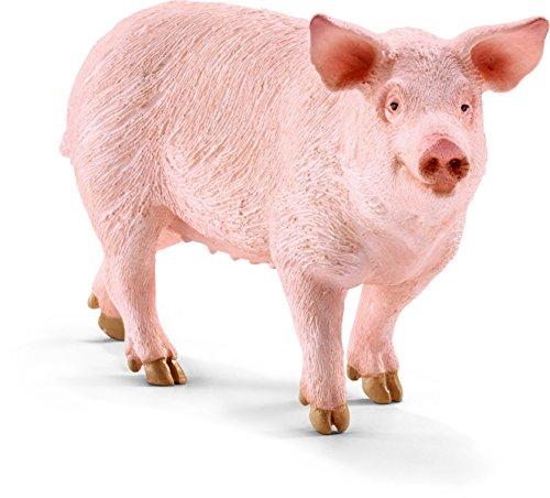 Schleich Pig Figurine Toy Figure - 1
