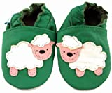 MiniFeet Soft Leather Baby Shoes, Baa Baa the Sheep