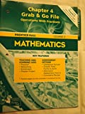 Prentice Hall Mathematics Chapter 4 Grab & Go File Operations With Fractions Course 2