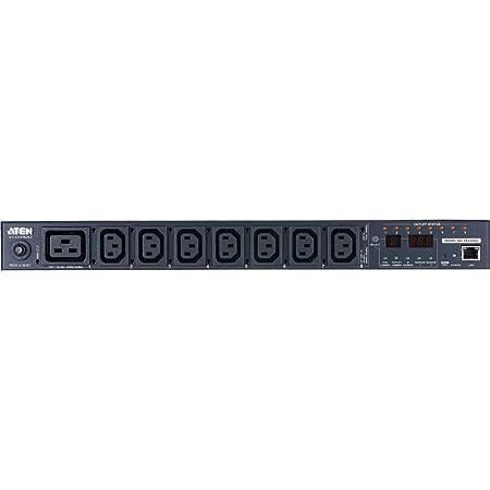 Aten PE6208 Unité d'alimentation électrique 1U Éco intelligente à 8 ports avec mesure