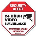 Video Surveillance Sign - Security Al...