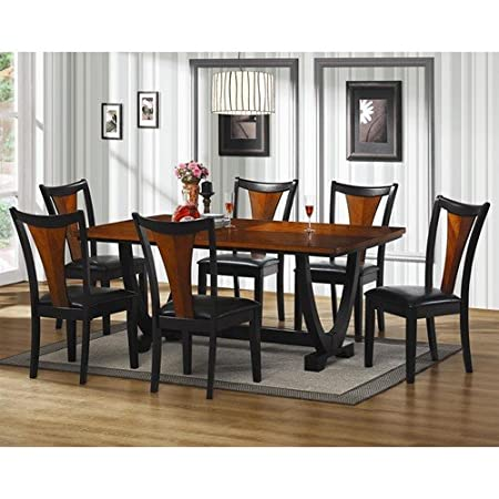 Boyer 7 Piece Rectangular Contemporary Dining Table Set